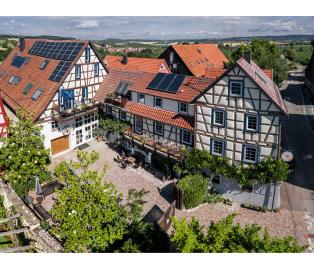 Luftaufnahme von Schoentaler Scheuer - Gebäude und Hof